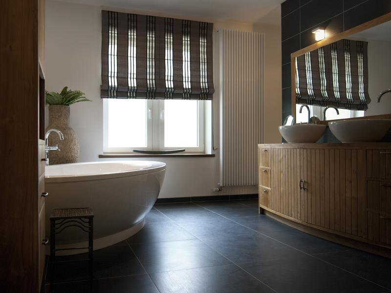 Moderne badkamer te lier bouwbedrijf eric peeters co